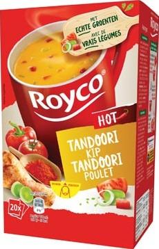 Royco Minute Soup tandoori kip