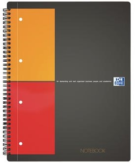 Oxford schrift International Notebook 21 x 29,7 cm A4 geruit 5 mm