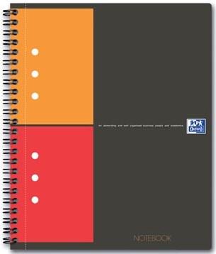 Oxford schrift International Notebook 14,8 x 21 cm A5 geruit 5 mm