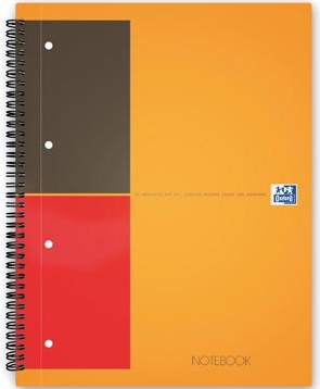 Oxford schrift International Notebook 14,8 x 21 cm A5 gelijnd