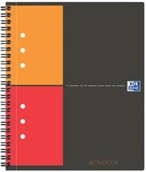 Oxford schrift International Activebook ft 14,8 x 21 cm (A5), geruit 5 mm, 12-gaatsperforatie