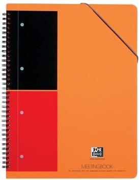 Oxford schrift International Meetingbook 21 x 29,7 cm A4 gelijnd