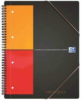 Oxford schrift International Meetingbook 14,8 x 21 cm A5 geruit 5 mm