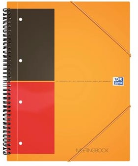 Oxford schrift International Meetingbook 14,8 x 21 cm A5 gelijnd