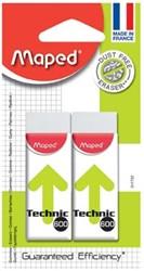 Maped gum Technic 600 blister met 2 stuks