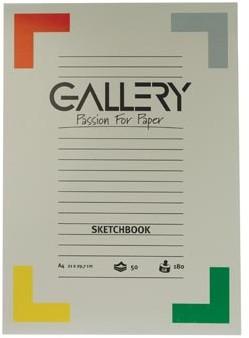 Gallery schetsblok 21 x 29,7 cm A4