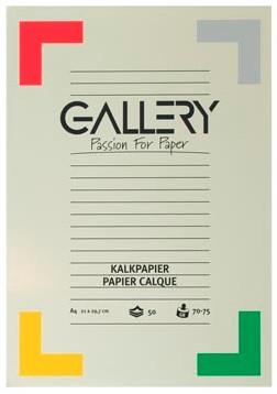 Kalkpapier A4 Gallery pak van 50 vel