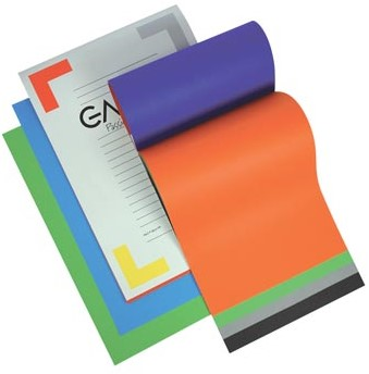 Gallery gekleurd tekenpapier Multicolor 21 x 29,7 cm A4