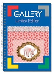 Gallery Spiraalblok Limited Edition ft 22 x 29,7 cm (A4+), geruit 5 mm