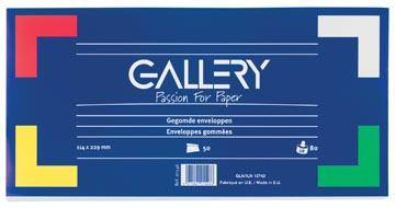 Envelop 114 x 229 mm zonder venster pak van 50 stuks