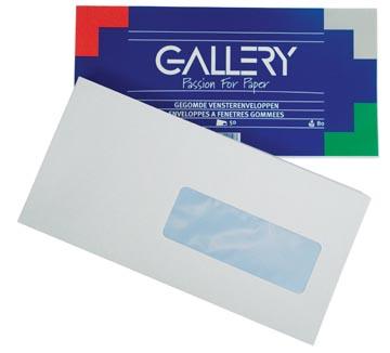 envelop 114 x 229 mm met venster rechts pak van 50 stuks