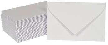 Enveloppen voor visitekaarten 95 x 145 mm doos van 50 stuks