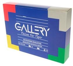 Gallery enveloppen met stripsluiting, doos van 50 stuks