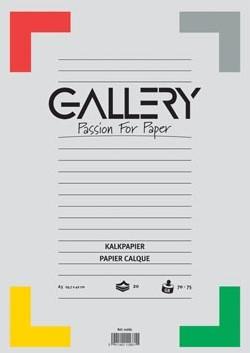 Kalkpapier A3 Gallery pak 20 vel