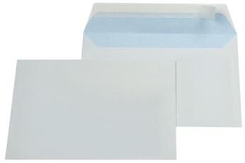 Envelop C6 114 x 162 mm met plakstrip ds/500