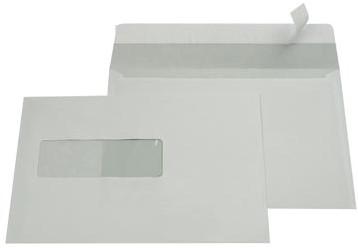 A5 envelop EA5 156 x 220 mm met plakstrip venster links ds/500