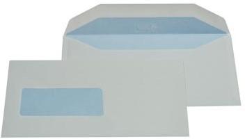 C5 envelop 114 x 229 mm met venster links doos van 500 stuks