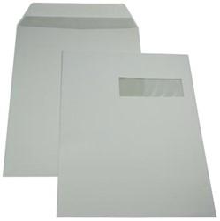 Gallery Ft 229 x 324 mm (C4) gegomd, met venster rechts (ft 40 x 110 mm)