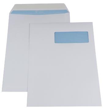 Envelop 230 x 310 mm venster rechts met plakstrip doos van 250 stuks