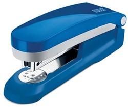 Novus nietmachine E 25 blauw met ontnieter