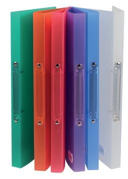 A4 Ringband class'ex 2 ringen van 16 mm in geassorteerde transparante kleuren