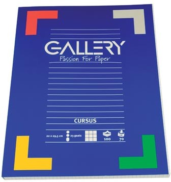 Gallery cursusblok geruit 5 mm