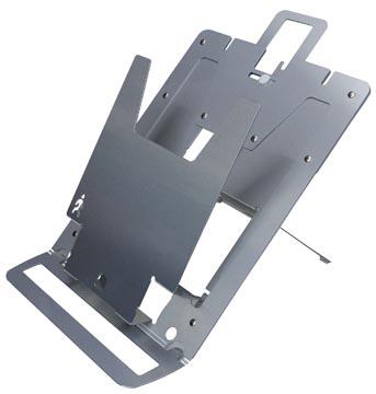 Laptopstandaard R-Go Tools zilver voor laptops tussen de 14 en 17 inch