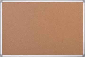 Prikbord kurk met aluminium lijst 90 x 60 cm