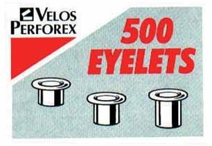 Hechtingen voor Velos riveteertang nr 2 lengte 4,2 mm