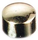 Magneet diameter 10 mm zilver blister van 8 stuks