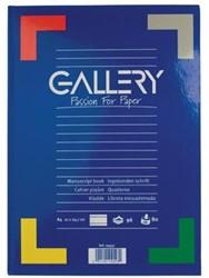 Gallery schrijfblok A4 met harde kaft gelijnd