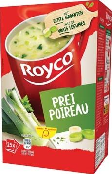 Royco Minute Soup classic prei pak van 25 zakjes