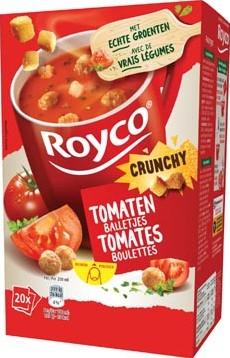 Royco Minute Soup tomaat met balletjes pak van 20 zakjes