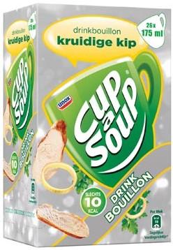 Cup a Soup drinkbouillon kruidige kip