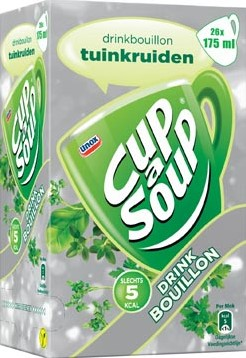 Cup-a-Soup drinkbouillon tuinkruiden pak van 26 zakjes