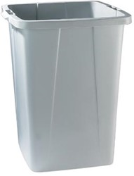 Durable afvalbak DURABIN 90L grijs