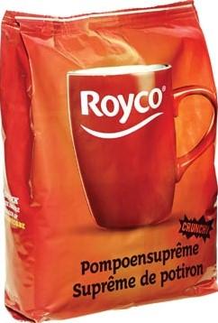 Royco Minute Soup pompoensuprême voor automaten 140 ml 70 porties