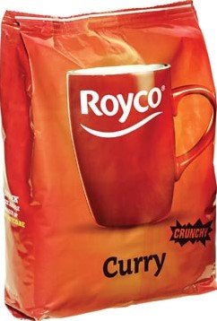 Royco Minute Soup Indian curry voor automaten 140 ml 80 porties