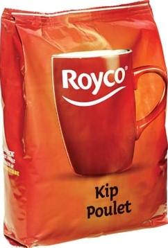 Royco Minute Soup kip voor automaten 140 ml 130 porties