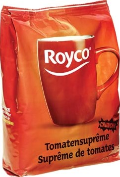 Royco Minute Soup tomatensuprême voor automaten 140 ml 80 porties
