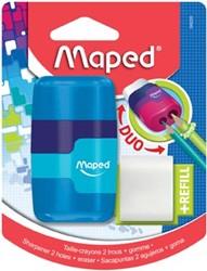 Maped potloodslijper + gom Connect Soft Touch, op blister