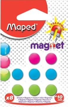 ronde magneten diameter 10 mm assorti blister van 25 stuks
