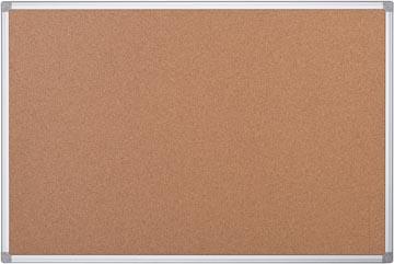 Prikbord kurk met alumium lijst 120 x 90 cm