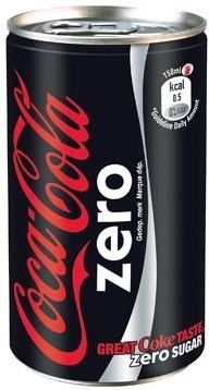 Coca-Cola Zero blik 15cl pak van 24 stuks