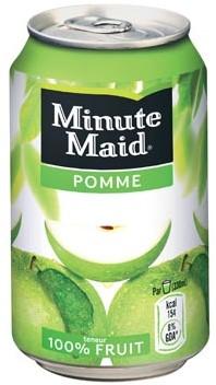 Minute Maid Appel blik 33cl pak van 24 stuks