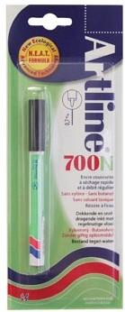 Permanent marker Artline 700 zwart op blister