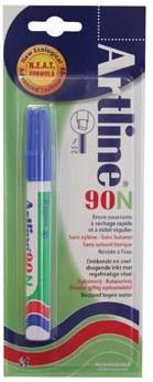 Permanent marker Artline 90 blauw op blister