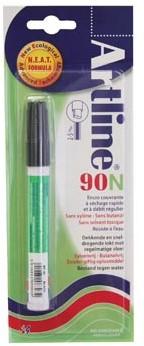 Permanent marker Artline 90 zwart op blister
