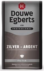 Douwe Egberts Koffie Silver (mokka), pak van 500 g