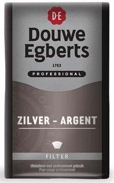 Douwe Egberts Koffie Silver mokka pak van 500 g